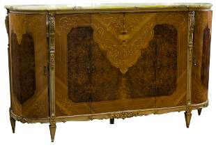 French Style Serving Cabinet