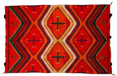 Native American Indian Navajo Germantown Textile
