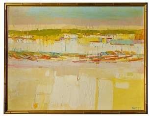 George Italo Botti (American, 1923-2003) Oil on Canvas