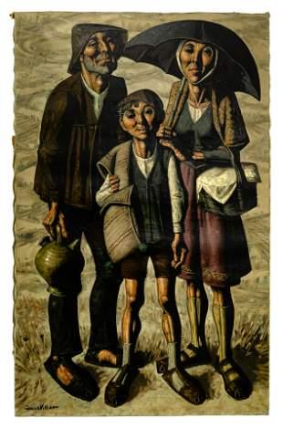 Jesus Villar (Martinez) (Spanish, b.1930) Oil on Canvas