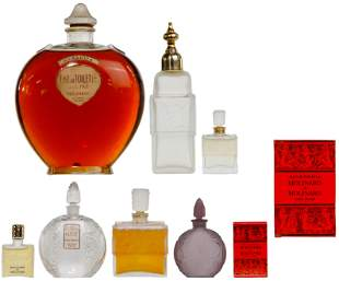 Lalique for Molinard Perfume Bottle Collection