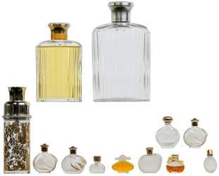 Lalique for Nina Ricci Perfume Bottle Assortment