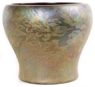 Jacques Sicard for Weller Art Pottery Planter