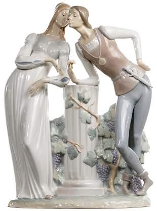 Lladro #4750 'Romeo and Juliet' Figurine