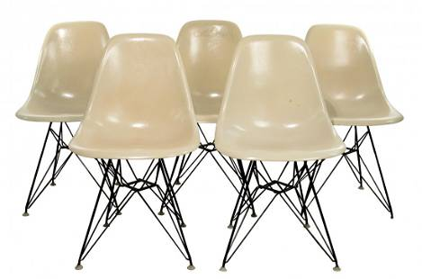 Herman Miller 'Eiffel Tower' Chair Collection