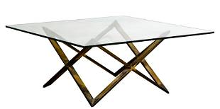 Hollywood Regency Style Coffee Table