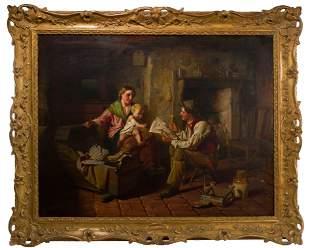 William Henry Midwood (British, fl.1867-1871) 'The New