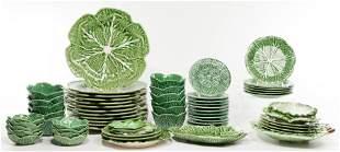 Bordella Pinheiro Majolica Cabbage Pottery Assortment