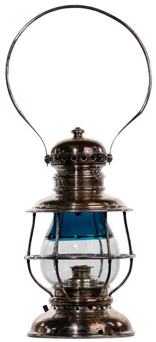 Adams & Westlake Two Tone Globe Railroad Lantern