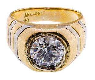 ABL 18k Gold and Diamond Ring