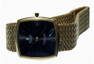 Universal 18k Gold 'Golden Shadow' Wrist Watch