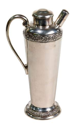Sanborns Mexican Sterling Silver Cocktail Shaker