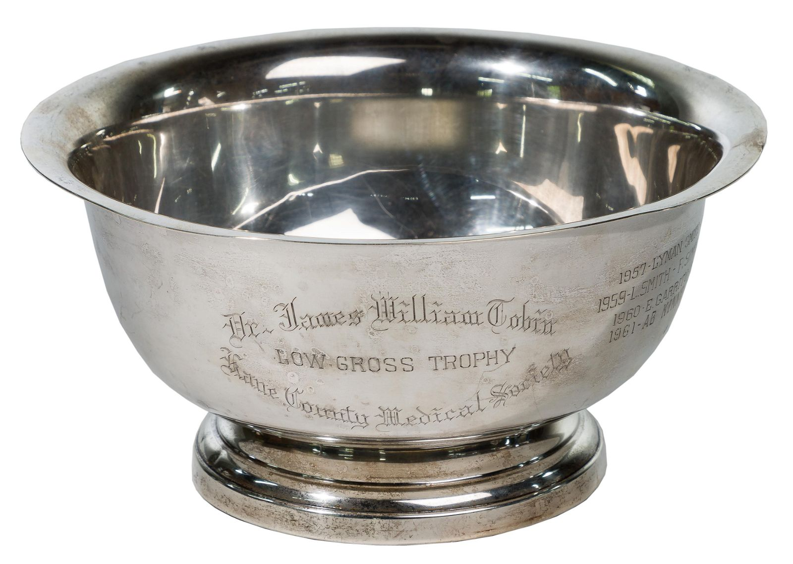 Poole Sterling Silver Presentation Bowl