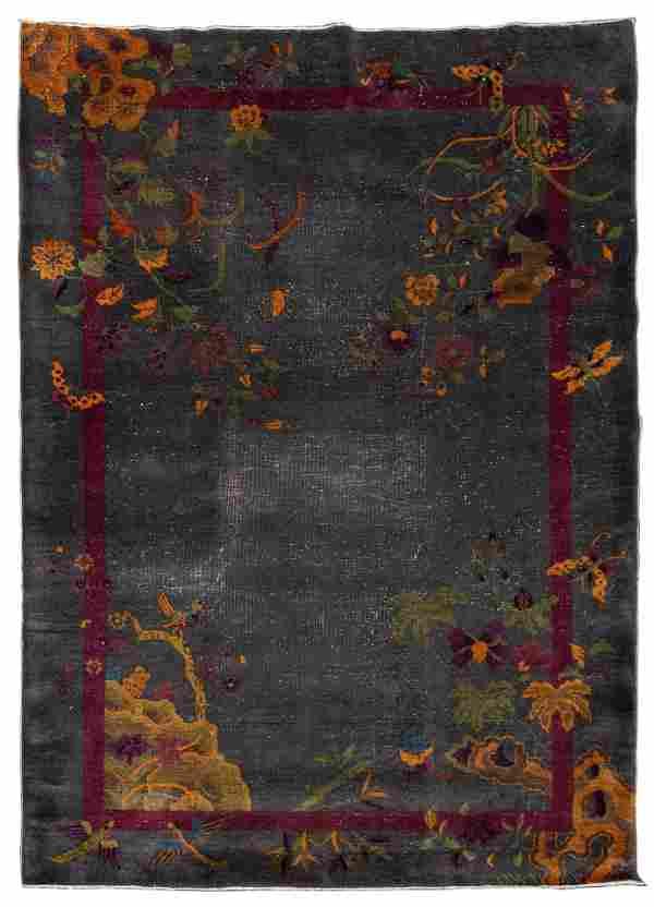 Chinese Art Deco Wool Rug
