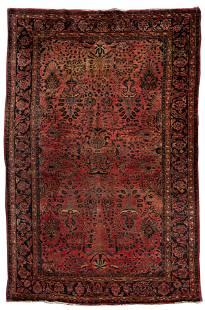Persian Sarouk Wool Rug