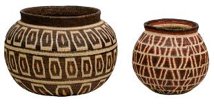 Central American Wounaan Woven Baskets