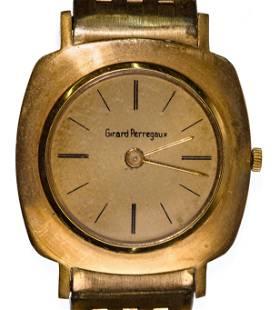 Girard Perregaux 18k Yellow Gold Case and Band Wrist