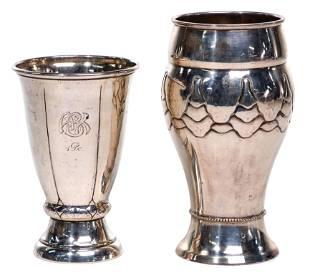 Christian F. Heise European Silver (826) Cups