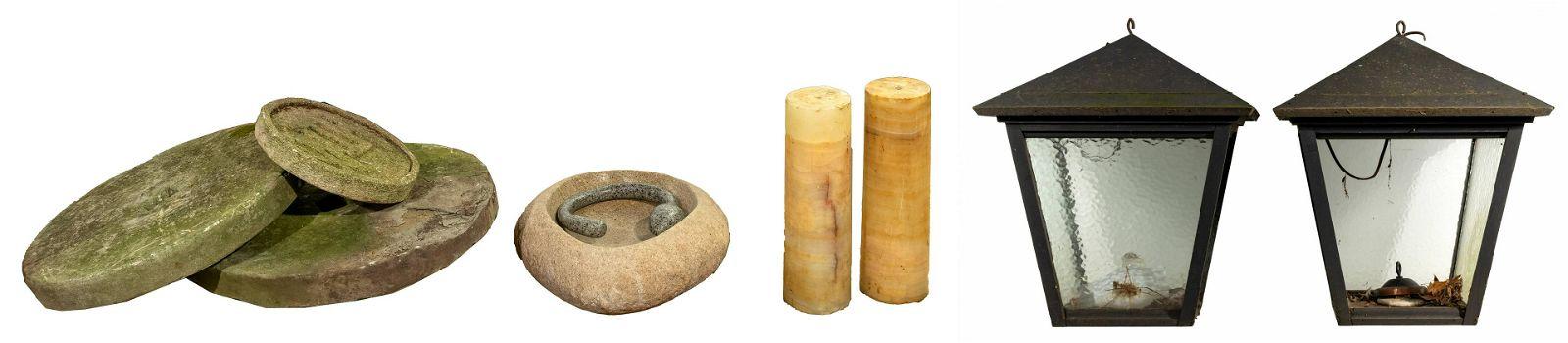 Stone Garden Object Assortment
