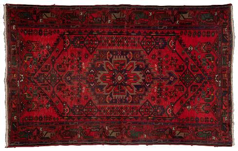 Persian Hamadan Wool Rug