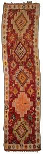 Persian Kilim Wool Runner Rug