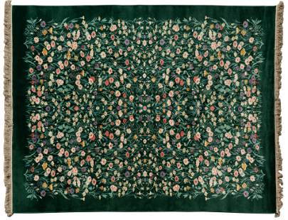 Karastan 'Wildflowers' Wool Rug