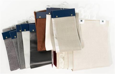 Designer Upholstery and Drapery Fabric Sample Assort