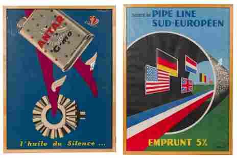 Bernard Villemot (French, 1911-1989) Lithograph Posters