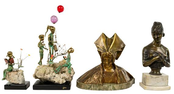 Bronze Sculpture Assortment