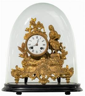 Gilt Mantel Clock