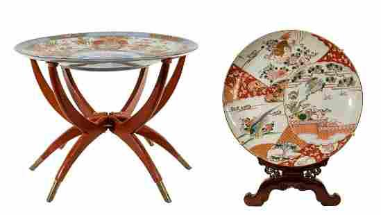 Asian Platter and Stand Assortment