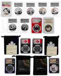 World: Fine Silver Commemorative Assortment