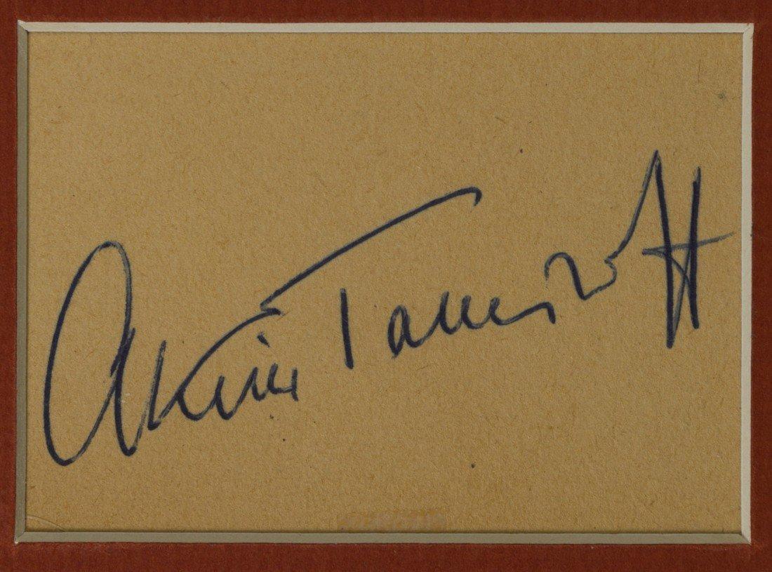 403: Akim Tamiroff, Actor, Cut Signature - 2