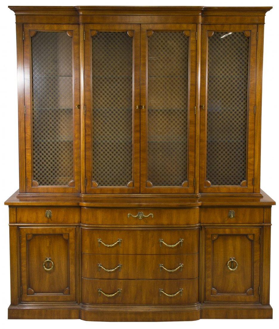 Fruitwood China Cabinet by Henredon