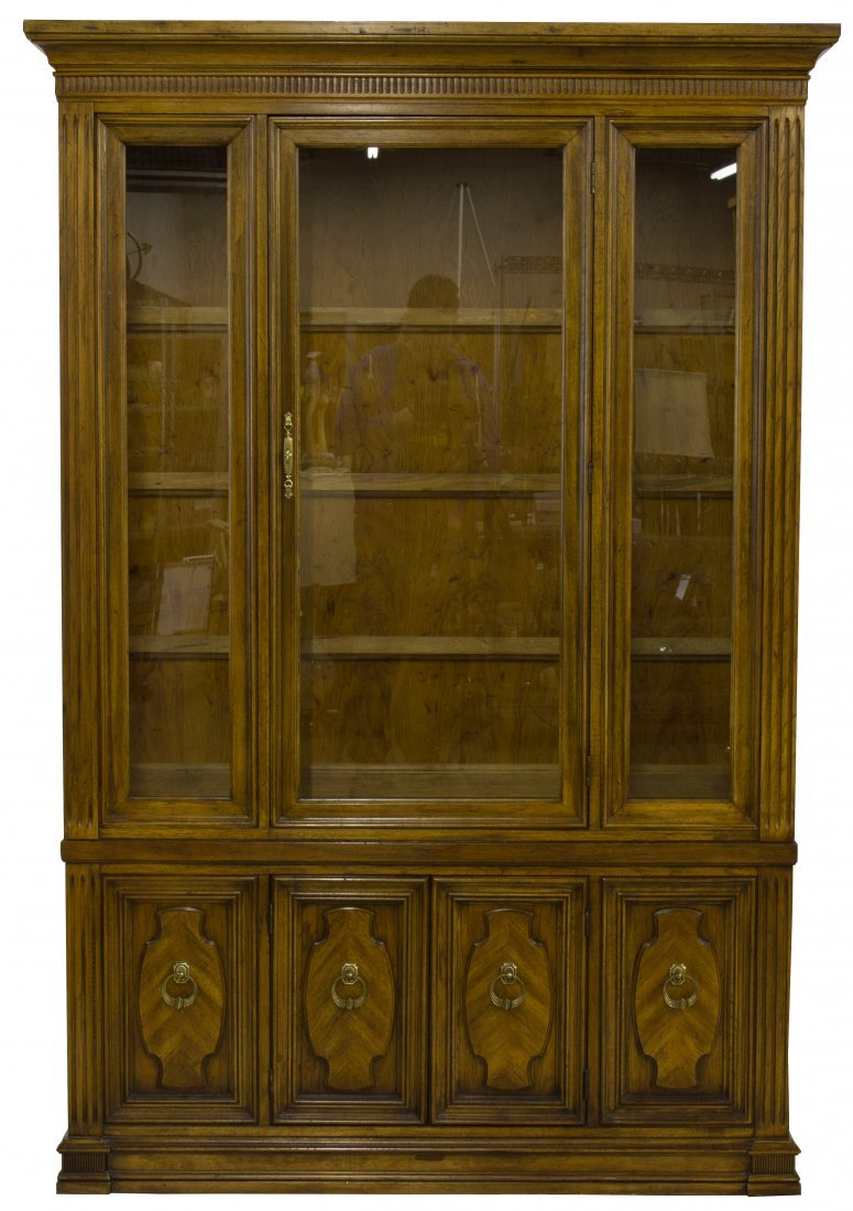 Fruitwood China Cabinet by Thomasville