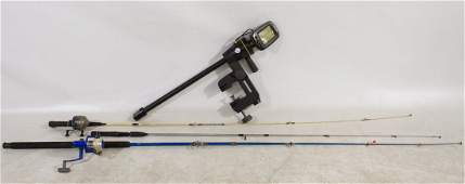 Fish Finder and Fishing Poles