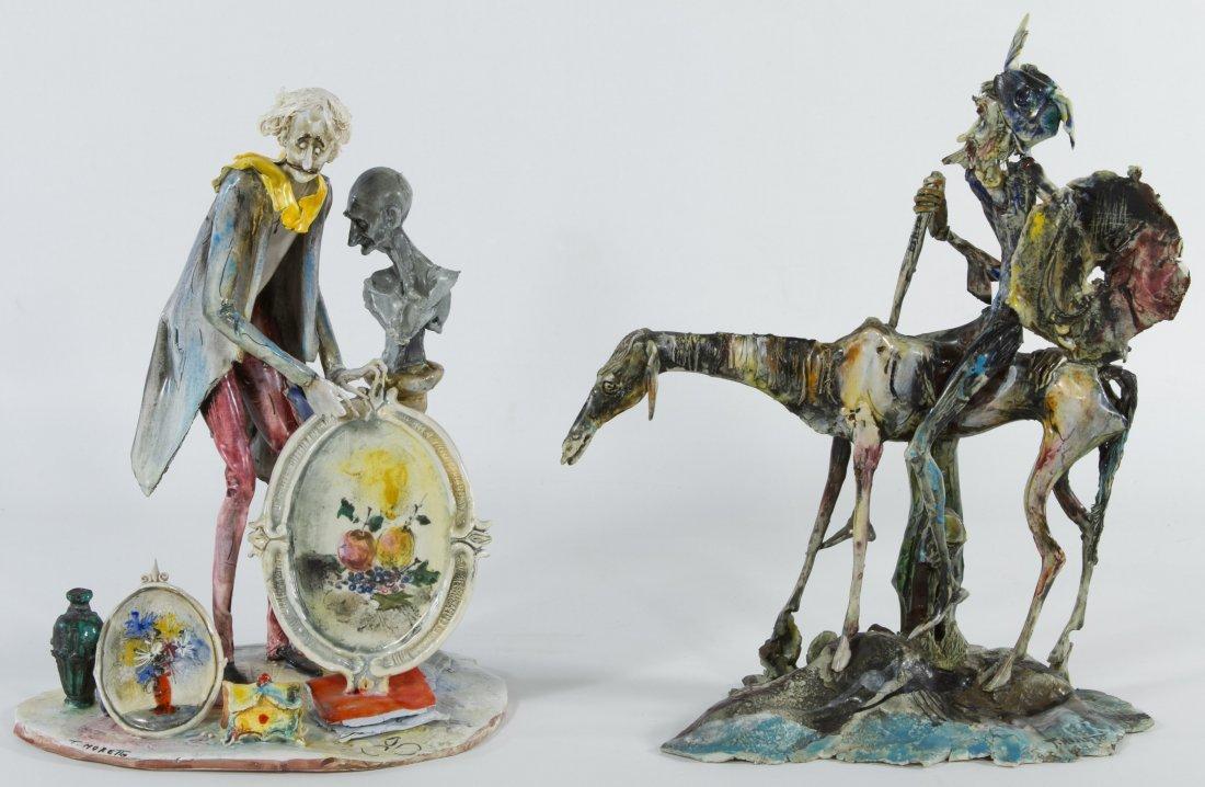 T. Moretto (Italian, b.1929) 'Lo Scricciolo' Ceramic