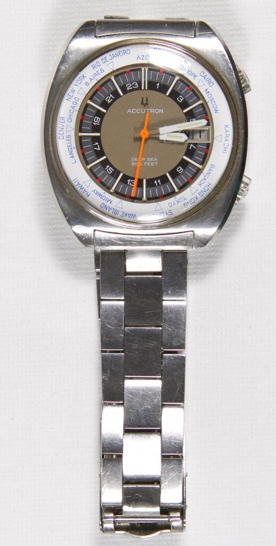 Bulova Accutron Deep Sea Diver Wrist Watch