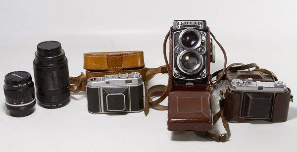 Rolleiflex Franke & Heidecke Synchro-Compur 6x6 and
