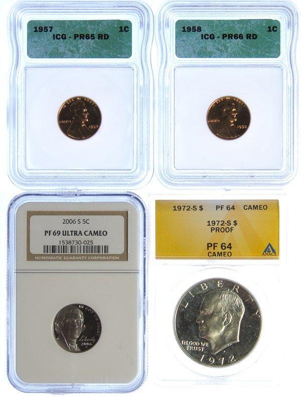 Graded Coin Assortment