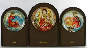 Anna Perenna The Byzantine Triptych Collector Plates