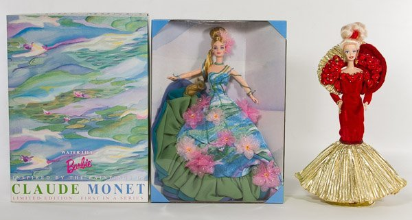 Barbie Claude Monet 'Water Lily' Doll
