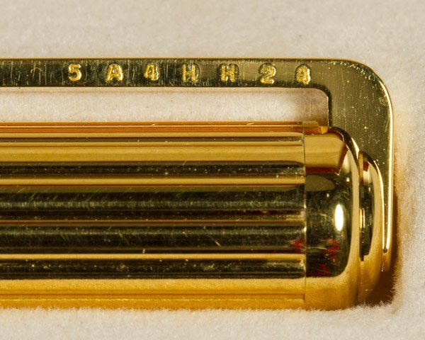 S.T. Dupont 'Gatsby' Gold Plated Ball Point Pen - 2