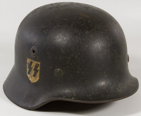World War II German SS Helmet