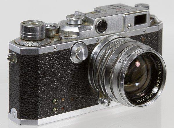 Canon EP 35mm Rangefinder Camera