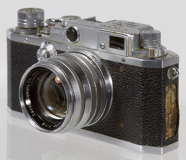 Canon EP 35mm Rangefinder Camera - 2