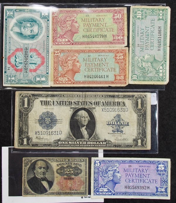 US Currency and Tender Assortment