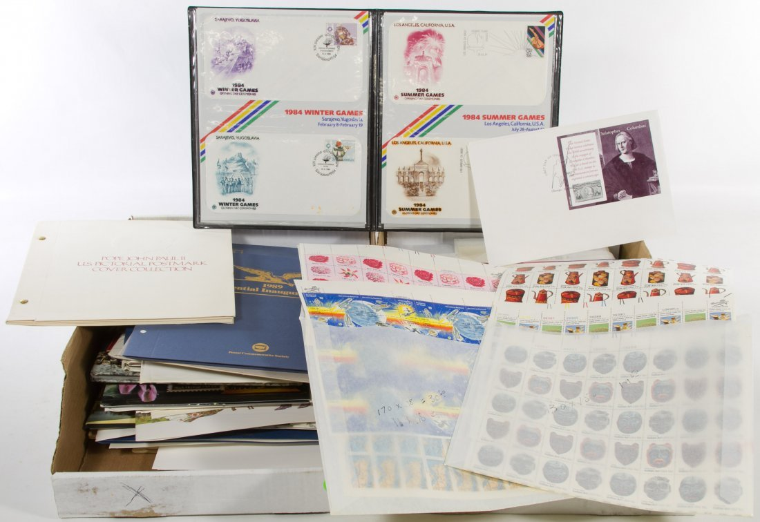 US First Day Stamp Cover Assortment