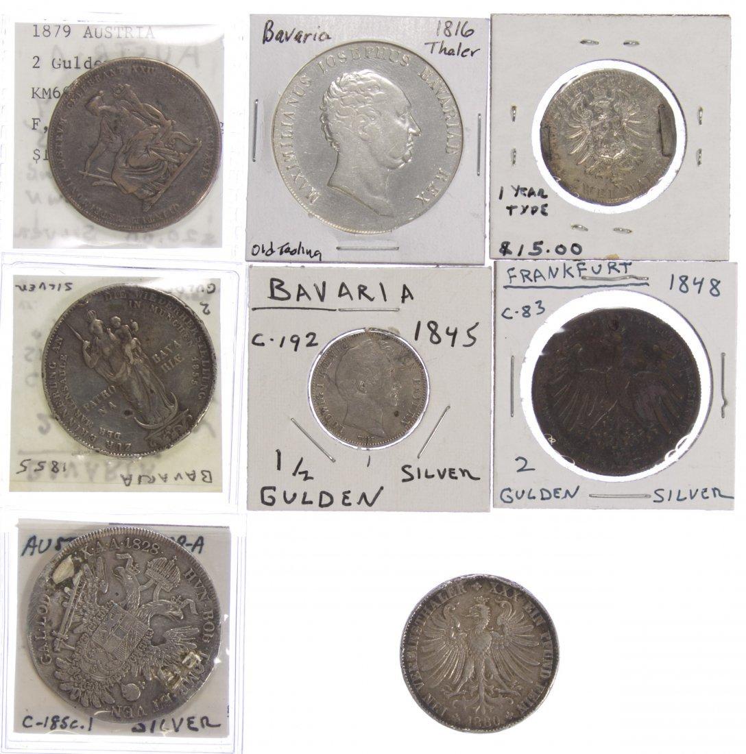 World Coins: Austria and Bavaria Silver Coins