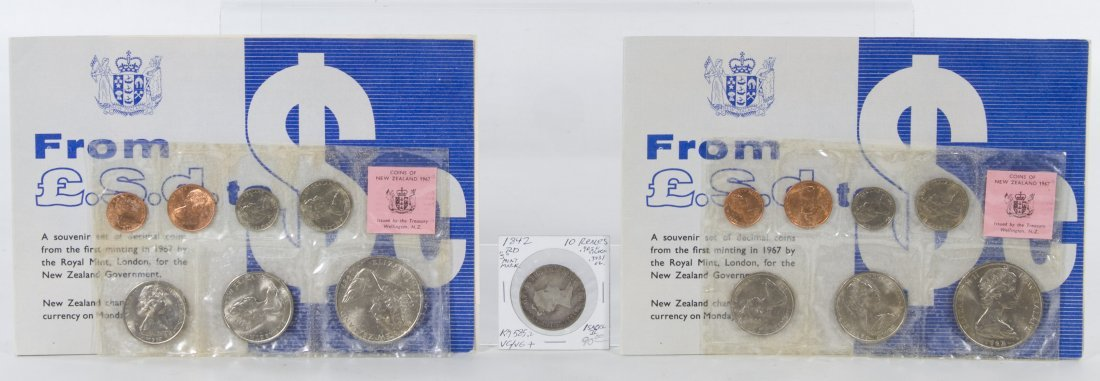 New Zealand: 1967 Coin Sets